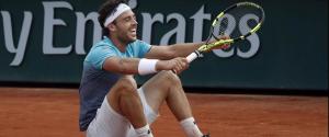 Tennis, il palermitano Cecchinato fa la storia: è ai quarti del Roland Garros