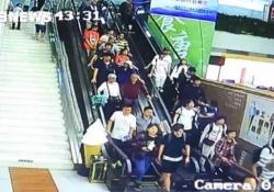 L'incidente domenica nel centro visitatori a Huayin City, a nord-ovest della provincia cinese dello Shaanxi