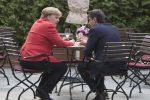 """Migranti, il premier Conte incontra la Merkel: """"Soluzione Ue o salta Schengen"""""""