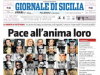 Premio al miglior titolo dell'anno, il Giornale di Sicilia nella top five