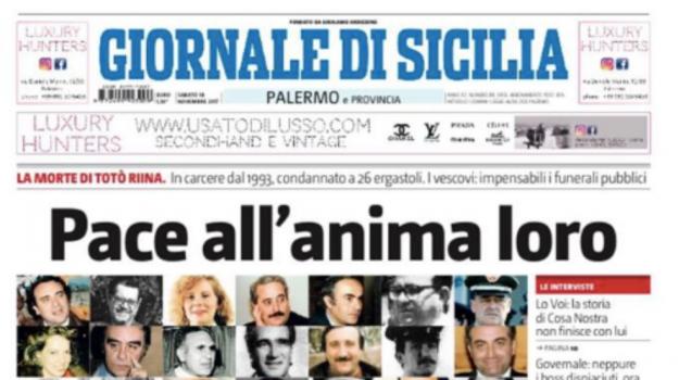 giornale di sicilia, titolo dell'anno, Sicilia, Cultura