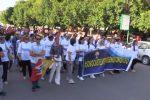 """Corteo per dire """"no"""" alla mafia a Castelvetrano, in mille in piazza"""