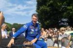 Parata a Verano Brianza per Nespoli con i colleghi astronauti
