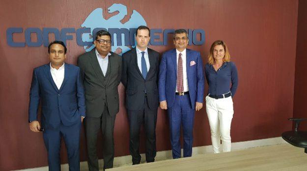 confcommercio, imprenditori indiani, investimenti, Alessandro Dagnino, Palermo, Economia
