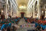 I giovani dell'oratorio Don Bosco per le vie di Palermo in ricordo di Padre Puglisi