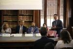 La presentazione a Roma del Campus Peroni, a destra Michele Pisante