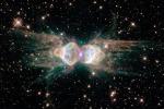 La Nebulosa Formica è quello che resta di una stella dopo la morte, con una serie di complesse interazioni fra i materiali che sono al suo interno (fonte: NASA, ESA, Hubble Heritage Team, STScI/AURA)