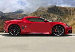 L'Alfa Romeo 8C avrà carrozzeria in carbonio e motore centrale V6 biturbo più unità ibrida per 700 Cv totali