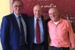Da sinistra,  Michele Alessandra, Vito Intini e Francesco Iacono