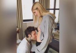 I due hanno condiviso su Instagram Tv un video che documenta l'arrivo del figlio