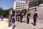L'inno d'Italia e la corona di fiori alla Statua della libertà: le immagini della Festa della Repubblica a Palermo