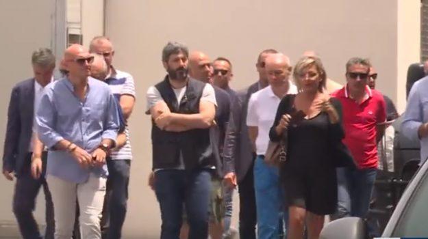 fico a pozzallo, porti italiani migranti, Matteo Salvini, Roberto Fico, Ragusa, Politica