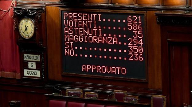 fiducia camera conte, Giuseppe Conte, Sicilia, Politica