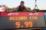 Atletica, Tortu segna il record italiano nei 100 metri: più veloce di Mennea