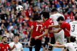 Mondiali, l'Egitto senza Salah cede all'Uruguay: decide Gimenez al 90'