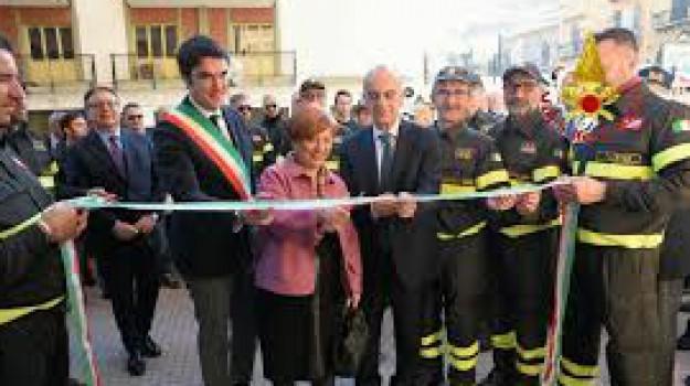 centro ginnico vigili del fuoco palermo, danneggiamento, rai vandalico, Palermo, Cronaca