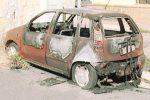 Fiamme da Ribera a Cammarata: due auto distrutte, danni a un'altra