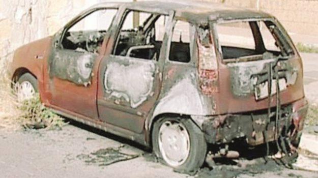 auto incendiate, Agrigento, Cronaca