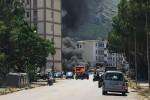 Palermo, autobus va a fuoco: paura tra i passeggeri, nuvola nera a Borgo Nuovo