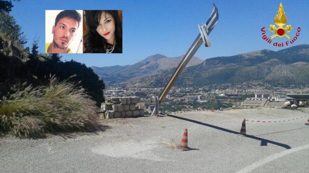 incidente monte pellegrino, Palermo, Cronaca
