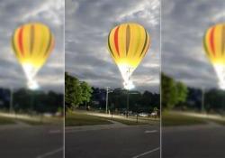Alla Michigan Challenge Balloonfest di Howell, Usa