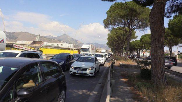 lavori circonvallazione Palermo, lavori ponte Basile, Palermo, traffico palermo, Palermo, Cronaca