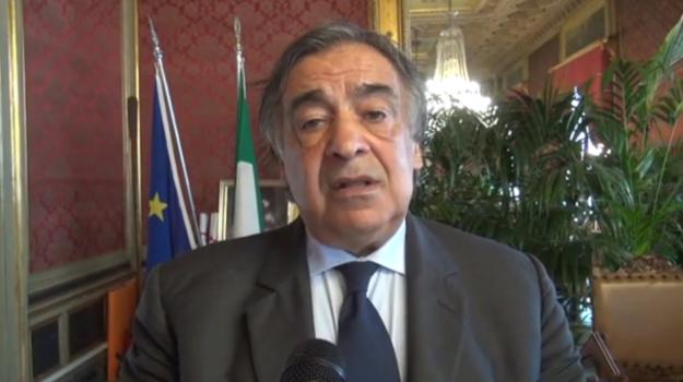 censimento rom, Leoluca Orlando, Matteo Salvini, Palermo, Politica