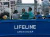L'ong Lifeline ancora in alto mare, il maltempo ferma l'idea Francia
