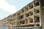 Loculi a rischio crollo, demolizioni a Canicattì