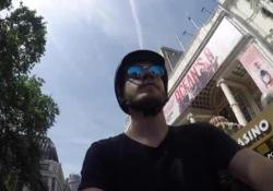 Londra-Parigi in bici: primo giorno
