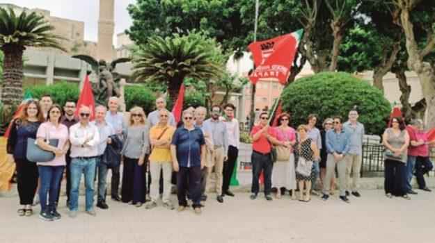 manifestazione migranti trapani, Trapani, Cronaca