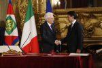"""Manovra, Mattarella scrive a Conte: """"Mettere al riparo l'Italia dall'instabilità finanziaria, dialogo con l'Ue"""""""