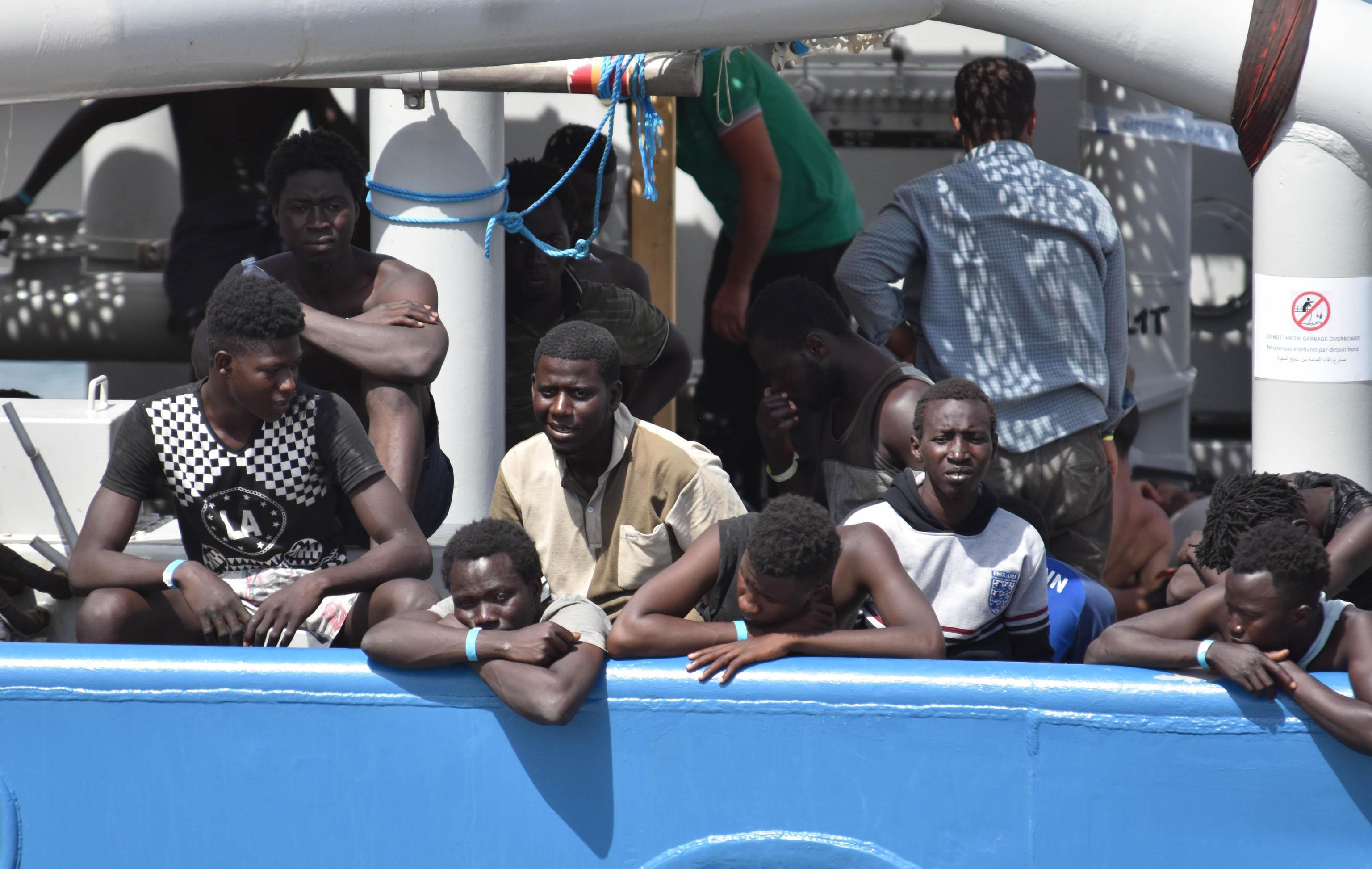 A Catania, con 932 migranti