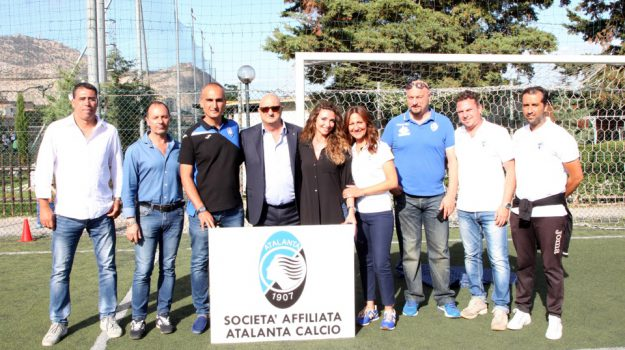calcio settore giovanile, gemellaggio monreale atalanta, Palermo, Sport