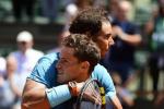 Roland Garros, aspettando Cecchinato l'altra semifinale è tra Nadal e del Potro