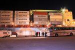 Finita a Pozzallo l'odissea della nave cargo Maersk: l'approdo nella notte con 108 migranti