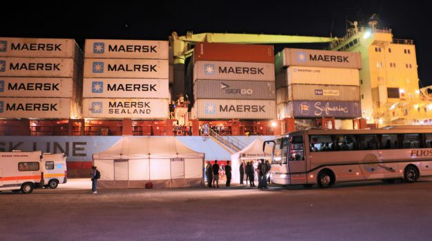 Alexander Maersk, cargo Maersk, migranti, Ragusa, Cronaca