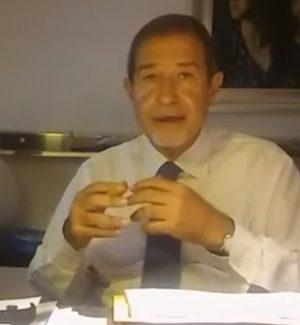 """Ultimatum di Musumeci in un video su Facebook: """"O le riforme o tutti a casa"""""""