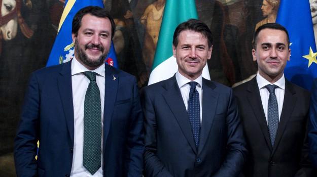 Consiglio dei ministri, fisco governo, manovra, scontro m5s-lega, Giuseppe Conte, Luigi Di Maio, Matteo Salvini, Sicilia, Politica