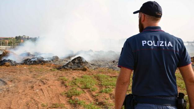 fuoco scarti coltivazione, Ragusa, Cronaca