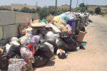 La zona balneare di Sciacca invasa dai rifiuti