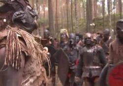 Terminato ieri il gigantesco cosplay con scontri nei boschi fuori Praga