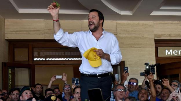 immigrazione, salvini in sicilia, Matteo Salvini, Ragusa, Politica