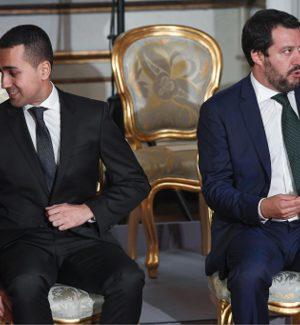 I due vice premier Luigi Di Maio e Matteo Salvini