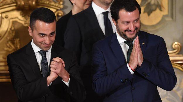 elezioni comunali 2018, Luigi Di Maio, Matteo Salvini, Sicilia, Politica