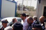 Salvini in visita all'hotspot di Pozzallo