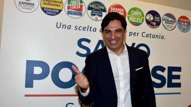 Catania comune Sindaco, Enzo Bianco, Salvo Pogliese, Catania, Politica