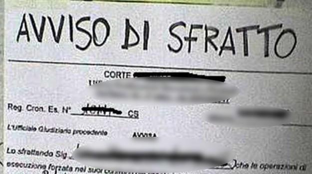 emergenza abitativa palermo, sfratti palermo, Palermo, Economia