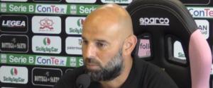 """La vigilia di Palermo-Pescara, Stellone: """"Non sarà una partita decisiva"""""""