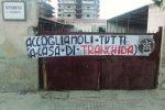 Migranti, a Trapani striscione di Casapound contro il nuovo sindaco Tranchida